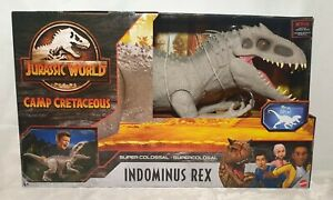 Brand New & Sealed Jurassic World Camp Cretaceous Super Colossal Indominus Rex