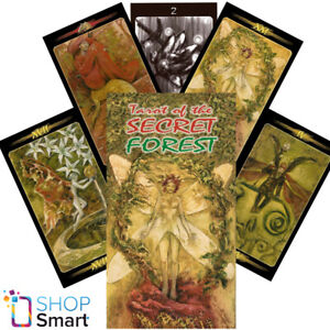 TAROT OF THE SECRET FOREST DECK CARDS MATTIOLI ESOTERIC TELLING LO SCARABEO NEW