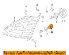 HONDA OEM 02-03 Civic-Headlight Headlamp Socket 33303S47901
