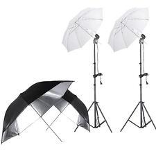 "Neewer 400W 5500K Photo Lighting Umbrella Kit with 2 Pcs 33"" Umbrella"