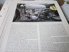 Motorrad Archiv Rennmodelle 2134 AJS V 4 mit Kompressor 1939 Wassergekühlt