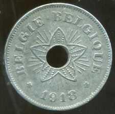BELGIQUE WW1   50 centimes 1918  ( belgique)  ( 1 )  ( bis )