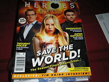 HEROES  REBORN  issue #2  jan/feb 2016  SAVE THE WORLD ,cover damaged lightly B5