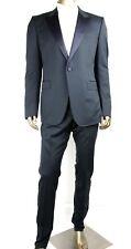 Gucci Men's Blue Wool Marseille Tuxedo 1 Button 1 Vent IT 54L/US 44L 297356 4140