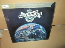 ROYAL AIRFORCE COLLEGE, CRANWELL - WORLD FAMOUS MARCHES rare Vinyl Lp VG+/VG