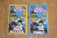 Kid Rock  - 2 x Laminated Backstage Pass  -  Lot # 1  - FREE POSTAGE - Simpsons