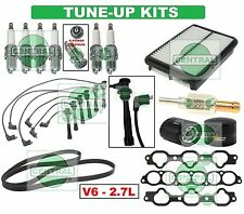 TUNE UP KITS for 01-06 SANTA FE: SPARK PLUG WIRESET BELT GASKET PCValve & FILTER
