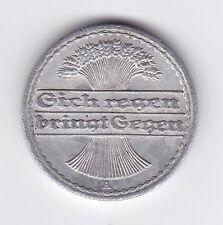 Germany 50 Pfennig Aluminium Coin - 1921 MUST L@@K !!