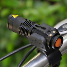 1200LM Zoom Cree Q5 LED Bike Bicycle Head Front Light AA/14500 Flashlight
