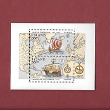 Island 1992 CEPT, Europa Block 13 Kolumbus, postfrisch, Mi 10,00€