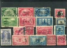 USA - Lot aus Nr.290 - 317 o - KW 72,-- € ( 14284 )