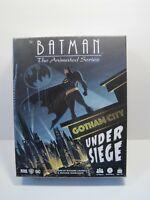 Batman The Animated Series - Gotham City Under Siege IDW Game New Sealed
