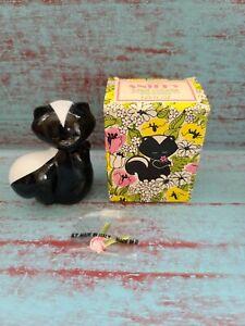 Vintage '78 Avon Sniffy Skunk Sweet Honesty Cologne Bottle with Original Box