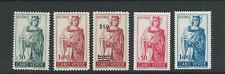 CAPE VERDE 1948-59 POSTAL TAX stamps MADONNA (Scott RA4-RA8 5 values) VF MNH
