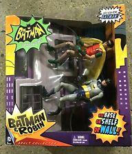 New listing Batman Classic Series (1966) Batman and Robin Climbing Wall of Building New