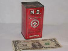 Antique Shotgun Powder Tin-M.B.-By Baschieri & Pellagi-Italy