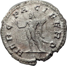 POSTUMUS  260AD  Silver Authentic Ancient Roman Coin Hercules Heracles  i65352