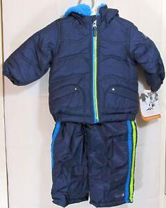 Pacific Trail - Boys 2pc Snowsuit (Bibs Pants and Jacket Coat) 12 Months - New