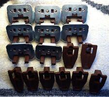 8 Sets New Kenlin Rite-Trak Dresser Drawer Guide Glide w/ Metal Bracket & Stop