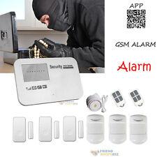 Wireless WIFI Wireless Burglar Alarm Remote APP GSM Anti-Theft Security System