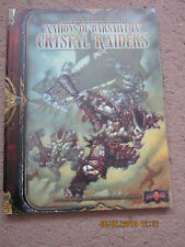 MGP earthdawn 3E Naciones de barsaive IV Cristal Raiders Mongoose Publishing en muy buena condición