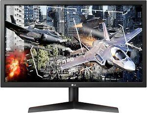 "LG 24GL600F-B 24"" UltraGear FHD 1ms Gaming Monitor"