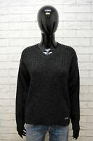 Maglione Donna Levi's Felpa Taglia M Pullover Cardigan Lana Sweater Woman