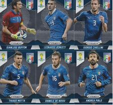ITALY - 2014 PANINI PRIZM WORLD CUP SOCCER - 2x COMPLETE TEAM BASE SET 10day