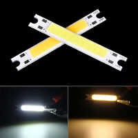 1x Cold/Warm White COB High Power LED Strip LED Light Chip Emitting Diode Bul wr