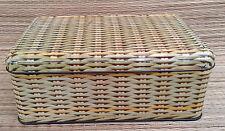 Antique box sucre sheet metal, for deco d'antique kitchen, french antique