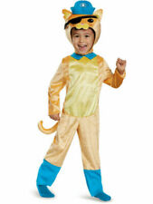 Octonauts Kwazii Cat Costume Dress Up Play or Halloween Toddler Medium 2T-3T