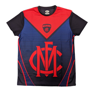 NEW Official Melbourne Demons Mens Sublimated Training Tee