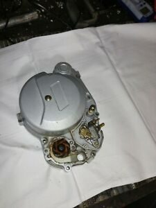 2001 Aprilia rs50 clutch casing engine cover with oil and water pump pumps