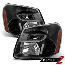 2005-2009 Chevrolet Equinox LT LTZ LS Black Front Headlights Headlamp LEFT RIGHT