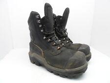Dunlop Men's 8'' Composite Toe Composite Plate WP Boots DLNA16101 Black 11M