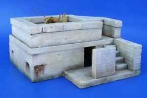 PLUS MODEL #046 WWII German Flak Bunker in 1:35