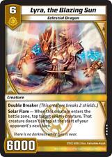 Kaijudo 1X LYRA, THE BLAZING SUN Very Rare #7/55 6DSI DragonStrike Infernus 2013