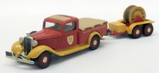 Brooklin 1/43 Scale BRK16X - 1935 Dodge Pick Up Cable Service Truck & Trailer
