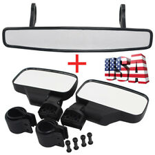 "Rear View Utv Mirror & 1.75"" Clamp for Polaris Rzr800 1000 Xp900 Xp1000S Mtv Us (Fits: John Deere)"