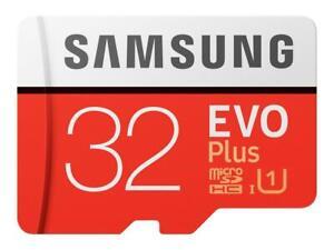 Samsung EVO Plus microSDHC Class 10 Speicherkarte + Adapter 32GB