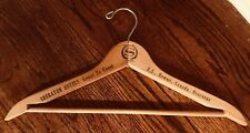 Vintage Wooden Coat Hanger Advertising Sheraton Hotel Coast US Hawaii Canada