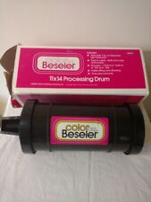 Color by Beseler 11x14 Unidrum Processing Drum Tank w/ Box