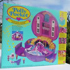 Mini Polly Pocket MUSICAL DREAM Polly's WONDERFUL WEDDING Herz Schloss mit Musik