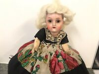 Antique Heubach Kopplesdorf Doll Costume Tea Cosy For Repair / Refurbish