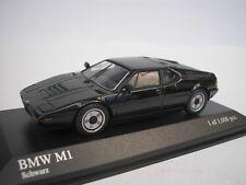 BMW M1 Street 1978 NEGRO 1/43 Minichamps 430025027 NUEVO