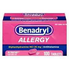Benadryl Allergy Ultratab Tablets 10 ea