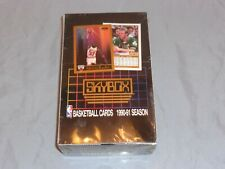 1990-1991 SKYBOX BASKETBALL INAUGURAL YEAR SEALED WAX BOX MICHAEL JORDAN PSA 10!