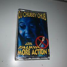 RARE! DJ Chubby Chub Less Talkin More Action 90s NYC Hip Hop Cassette Mixtape