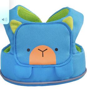 Trunki Toddlepak Fuss Free Toddler Reins Blue Bert Bear Brand New 6-48mths