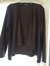 Womens Brown Wrangler Jacket, size XL